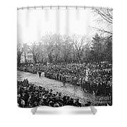 Lincolns Inauguration Shower Curtain