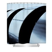 Lloyds Of London Building Shower Curtain