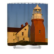 Long Point Lighthouse, Twillingate Shower Curtain