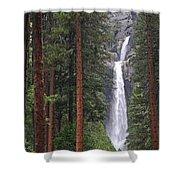 Lower Yosemite Falls Shower Curtain