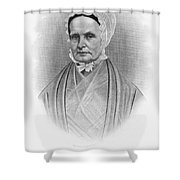 Lucretia Coffin Mott Shower Curtain