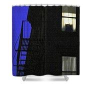 Manhattan After Dark Shower Curtain
