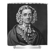 Mary Russell Mitford Shower Curtain