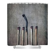 Matches Shower Curtain