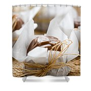 Milk Chocolate Shower Curtain