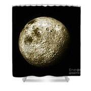 Moon, Apollo 16 Mission Shower Curtain by Science Source