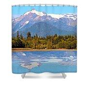 Mount Shuksan Shower Curtain
