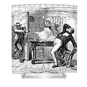 Murder Of Smith, 1844 Shower Curtain by Granger