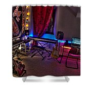Music Studio Shower Curtain