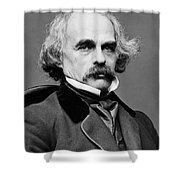 Nathaniel Hawthorne, American Author Shower Curtain