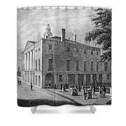 New York: Federal Hall Shower Curtain