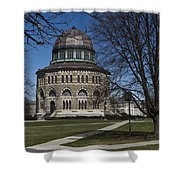 Nott Memorial Building At Union College Shower Curtain