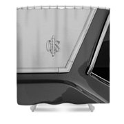 Olds C S In Black And White Shower Curtain
