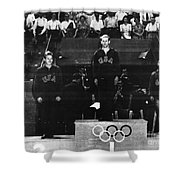 Olympic Games 1948 Shower Curtain