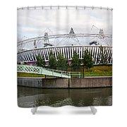 Olympic Park Shower Curtain