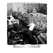 Oscar Wilde (1854-1900) Shower Curtain