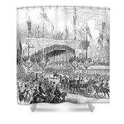 Paris Exposition, 1855 Shower Curtain