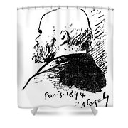 Paul Verlaine (1844-1896) Shower Curtain