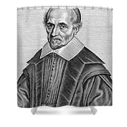 Pierre Gassendi, French Polymath Shower Curtain