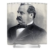 President Grover Cleveland Shower Curtain by International  Images