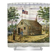 Presidential Campaign, 1840 Shower Curtain