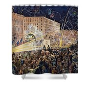 Presidential Campaign: 1876 Shower Curtain