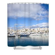 Puerto Banus In Spain Shower Curtain