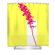 Purple Orchid Bunch Shower Curtain