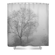 Rainy Days Shower Curtain