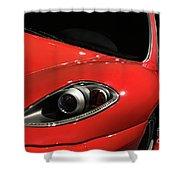 Red Ferrari F430 Scuderia Shower Curtain