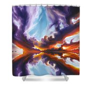 Reflections Of The Mind Shower Curtain