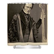 Richard Owen, English Paleontologist Shower Curtain