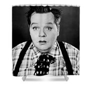 Roscoe Fatty Arbuckle Shower Curtain