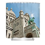 Sacre Coeur Basilica Paris France Shower Curtain