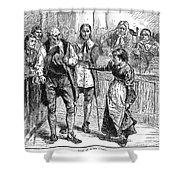Salem Witch Trial, 1692 Shower Curtain