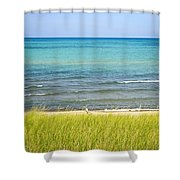 Sand Dunes At Beach Shower Curtain