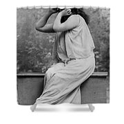 Sarah Bernhardt, French Actress Shower Curtain