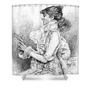 Sarah Bernhardt Shower Curtain