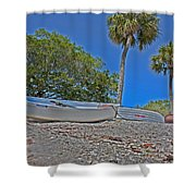 Sarasota Bayfront  Shower Curtain