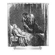 Shakespeare: Othello Shower Curtain