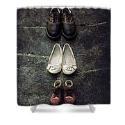 Shoes Shower Curtain