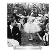Silent Film Still: Dancing Shower Curtain