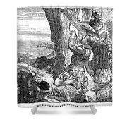 Sir Francis Drake (1540-1596) Shower Curtain