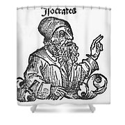 Socrates, Greek-athenian Philosopher Shower Curtain