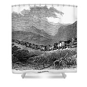 South Africa: Great Trek Shower Curtain