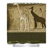 South Africa Shower Curtain