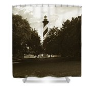 St. Augustine Lighthouse Shower Curtain