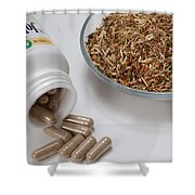 St Johns Wort Shower Curtain by Photo Researchers, Inc.