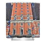 Statler Towers Shower Curtain