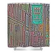Streets Of Bel Air Shower Curtain
